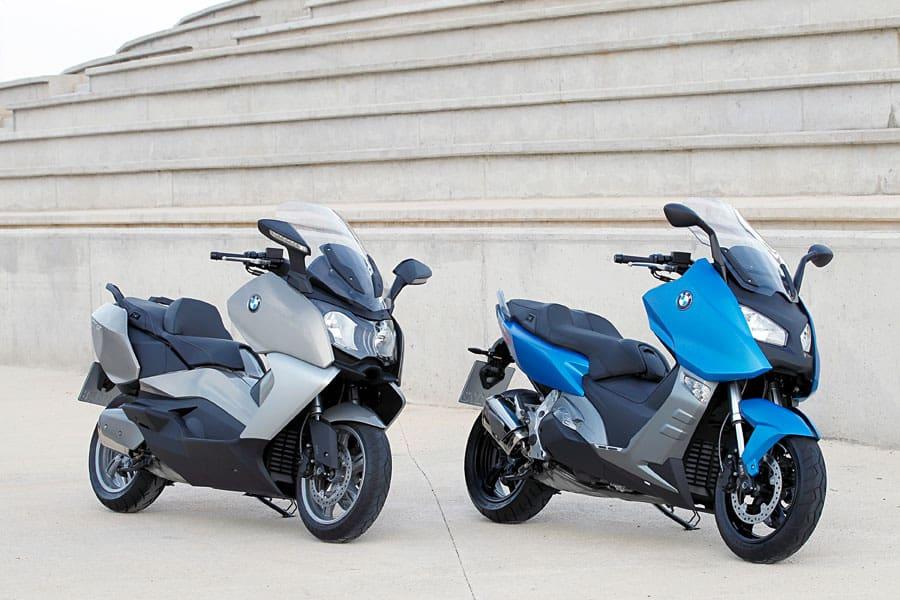 BMW Motorrad Memperkenalkan Skuter C 650 Sport dan C 650 GT