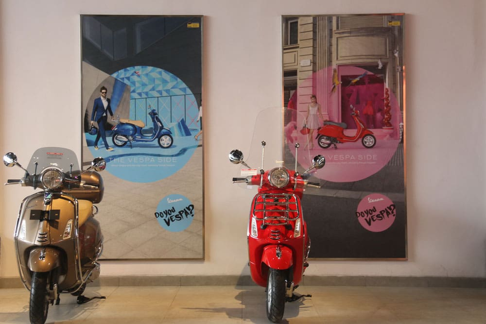 Grup Piaggio Membuka Toko Motoplex di Indonesia