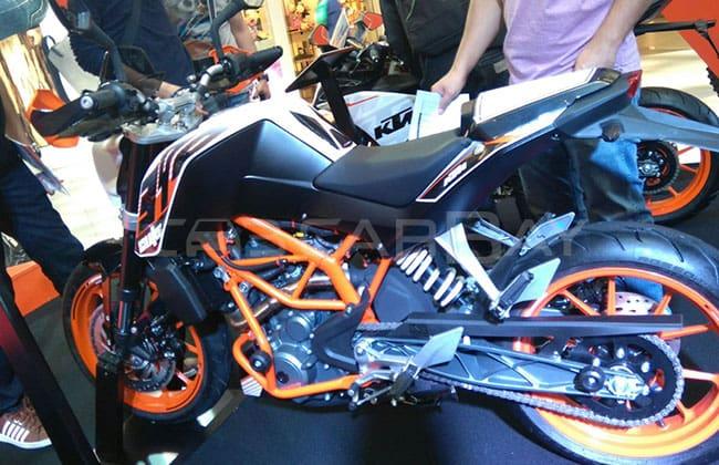 KTM Duke ในงาน Bangkok Motorbike Festival 2016