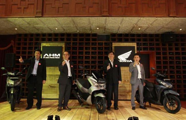 Penampilan Baru Honda PCX 150 dan Honda Vario 150
