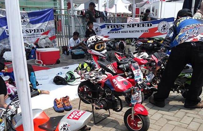 IIMS Spesial Akhir Pekan, Acara Balap Mini GP Diselenggarakan