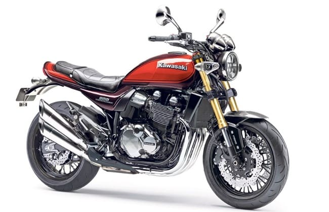 Tampilan Digital Kawasaki Z900RS