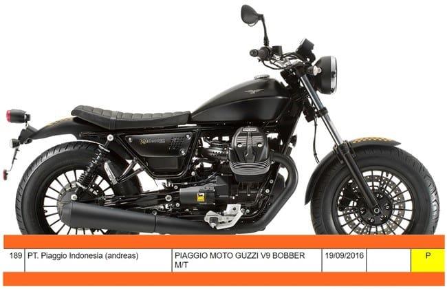 Moto Guzzi V9 Bobber Akan Sapa Indonesia