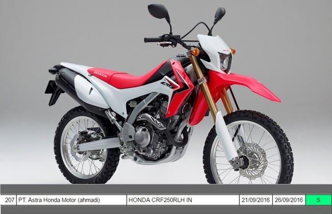 Honda CRF250L Calon Pilihan Motor Trail Baru Di Indonesia