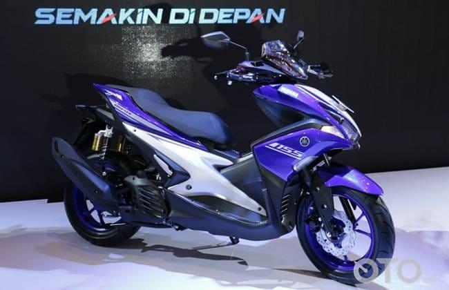Yamaha AEROX 155VVA di IMOS 2016