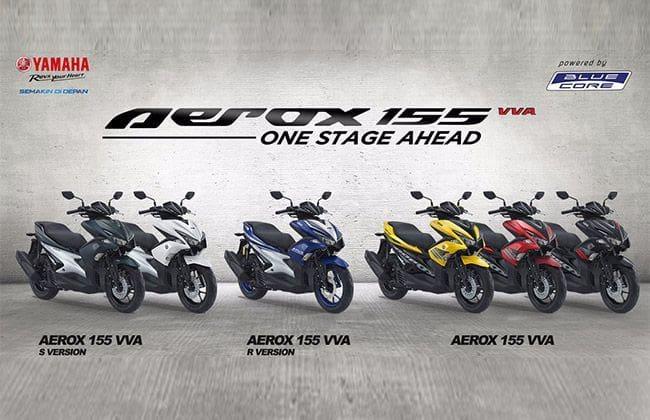 Pilih Yamaha Aerox 155 Standar, R atau S-Version?