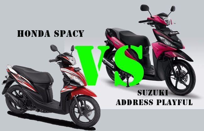 Pilih Suzuki Address Playful atau Honda Spacy?