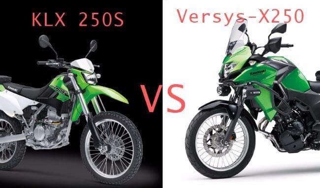Kawasaki KLX 250S vs Versys-X250, Pilih Mana?