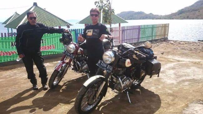 Royal Enfield Classic 500 Jelajah Timor Leste