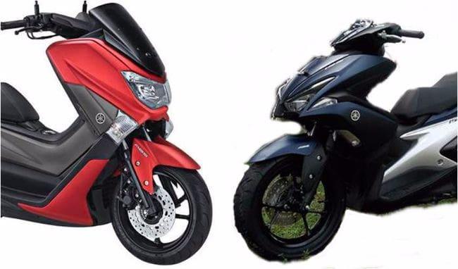 Pilih Yamaha NMax atau Aerox 155VVA?