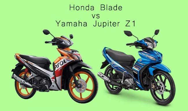Pilihan Motor Bebek Rp 16 Jutaan: Jupiter Z1 atau Honda Blade?