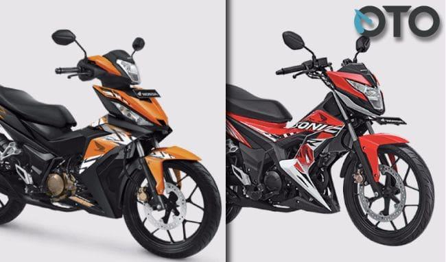 Pilihan Bebek Honda 150 cc: Sonic 150R vs Supra GTR