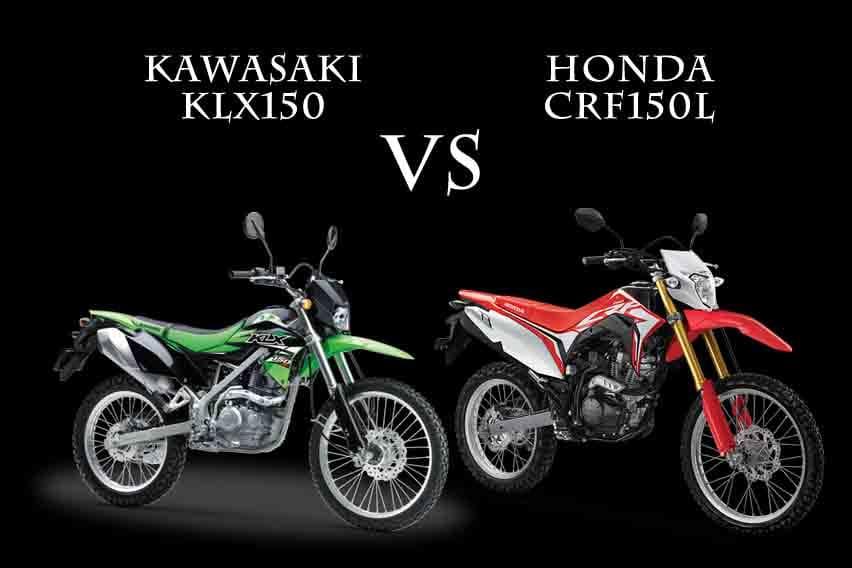 Adu Tangguh, Honda CRF150L Vs Kawasaki KLX150