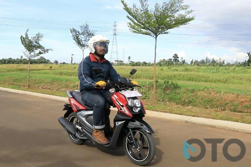 test ride yamaha x-ride