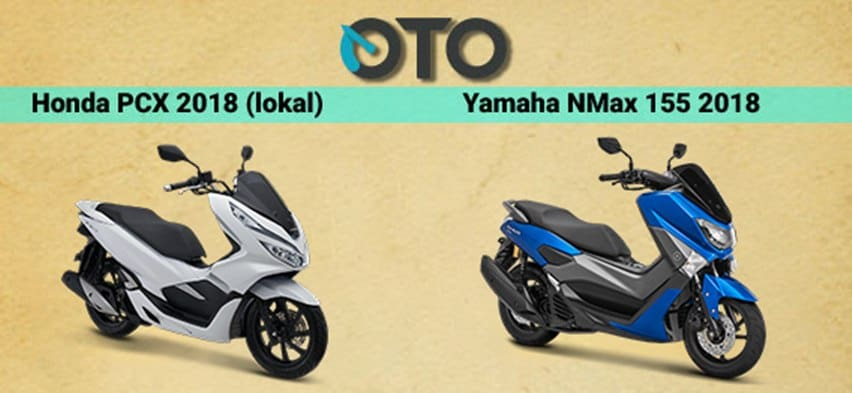 Dilema Yamaha Nmax atau Honda PCX? Ini Jawabannya