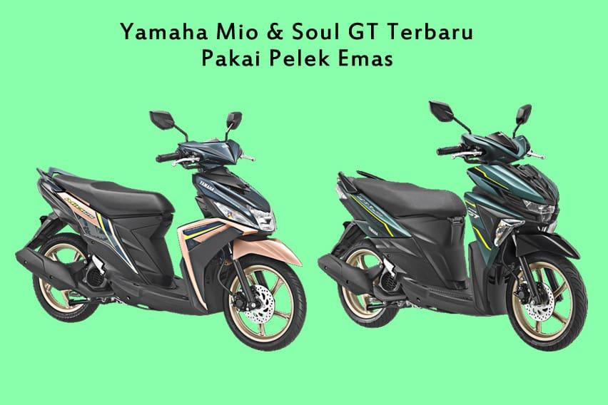 Yamaha Luncurkan Mio 125 dan Soul GT Pelek Emas, Diam-diam!