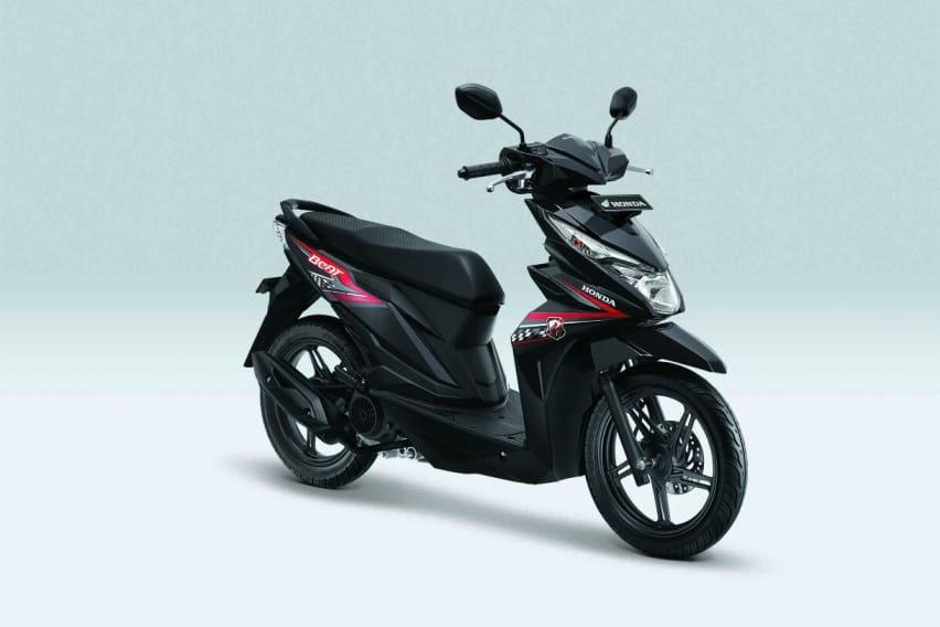 Honda beat warna baru