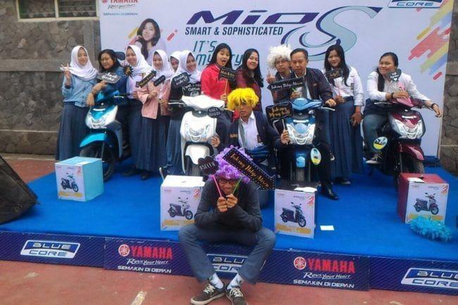 Polling Yamaha Mio S di Bandung, Warna Ini Paling Favorit
