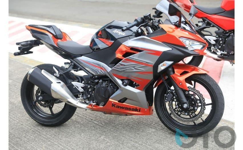 First Ride Kawasaki Ninja 250