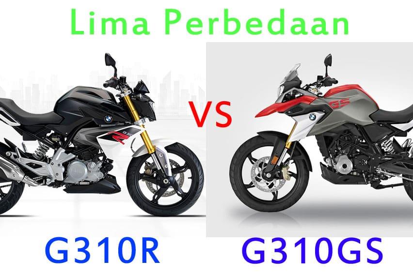 Sebelum Beli, Kenali Lima Perbedaan BMW G310GS vs G310R