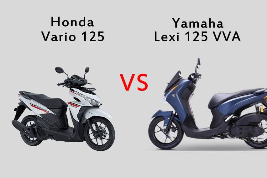 Honda Vario 125 Vs Yamaha Lexi 125 VVA, Pilih Mana?
