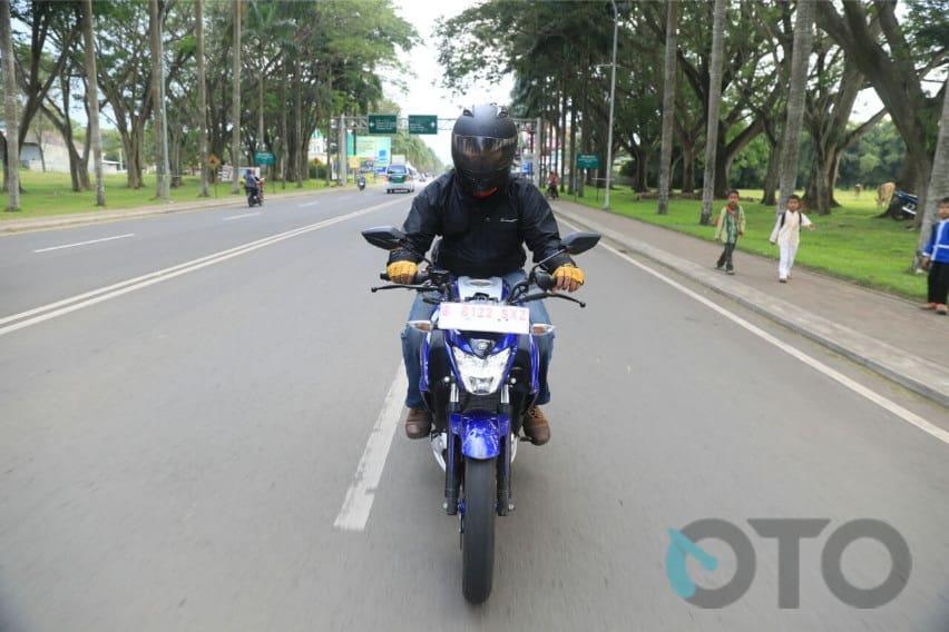 Test Ride Yamaha Vixion R: Seberapa Irit?