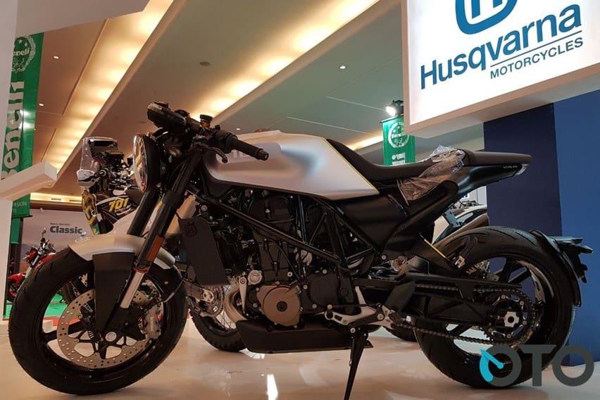 IIMS 2018: Cafe Racer Ganteng, Husqvarna Vitpilen Akhirnya Dijual