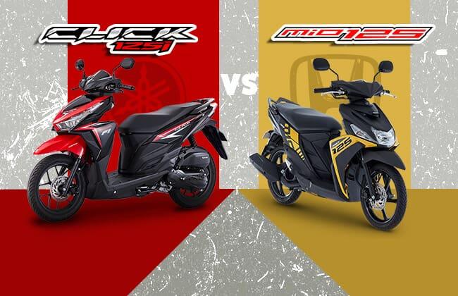 Yamaha Mio i 125 vs Honda Click 125i - Which one to buy?