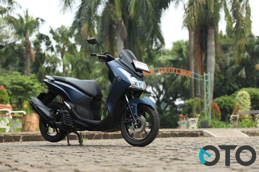 Yamaha Lexi Kini Pakai ABS, Harga Naik Rp 2 Jutaan