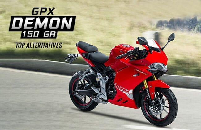 GPX Demon 150 GR: Top alternatives
