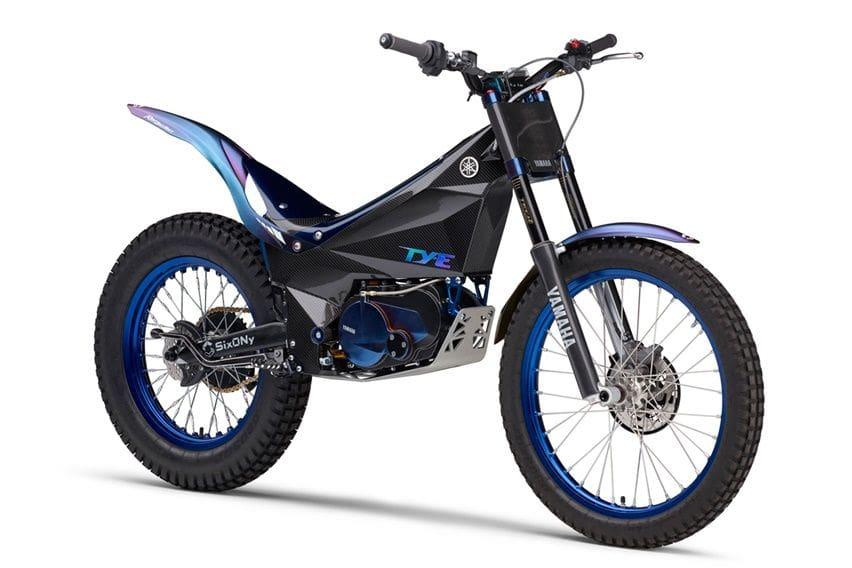 Yamaha TY-E, Motor Trail Elektrik Berbahan Serat Karbon