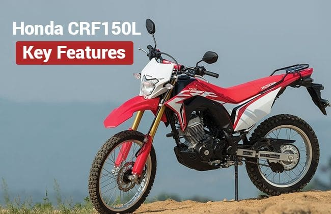 Honda Crf 150l Key Features