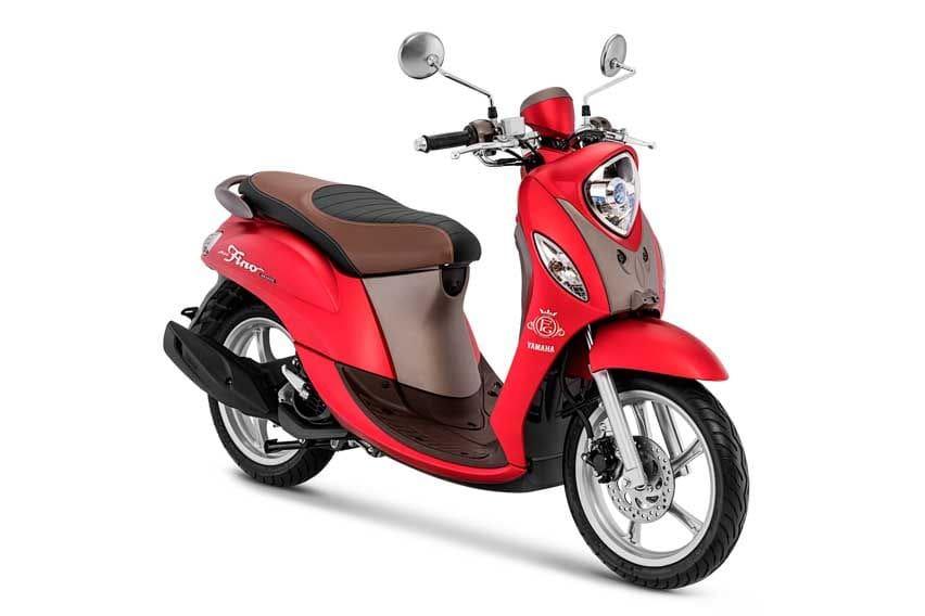 Yamaha Fino Grande Kena Virus Merah Doff