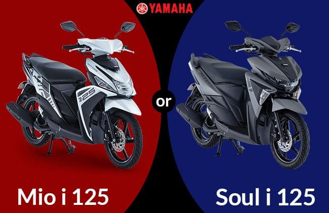 Yamaha Mio i 125 or Mio Soul i 125: Which one to buy?