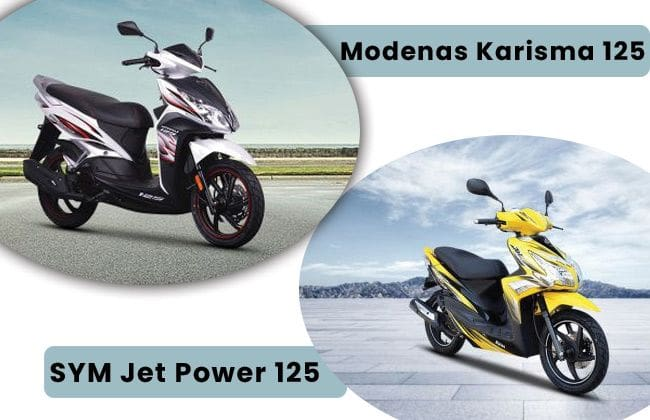 SYM Jet Power 125 vs Modenas Karisma 125 - The better scooter to buy?