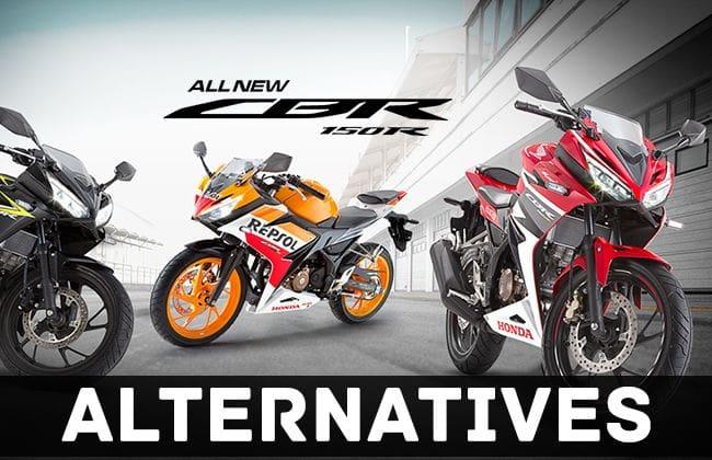 Honda CBR 150R: Know its alternatives
