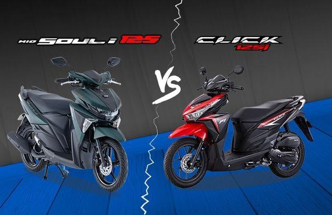 Yamaha Mio Soul i vs 125 Honda Click 125 - Which one you should buy?