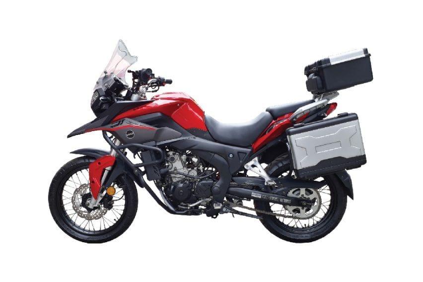 Spesifikasi Lengkap Viar Vortex 250, Lawan Kawasaki Versys-X250