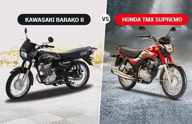 Kawasaki Barako II vs Honda TMX Supremo: The battle of the work horses