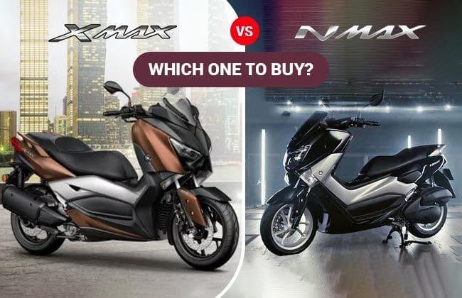Yamaha Nmax or Yamaha Xmax: Which one to buy?
