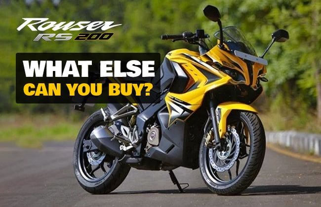 Kawasaki Rouser 200NS: What else can you buy?