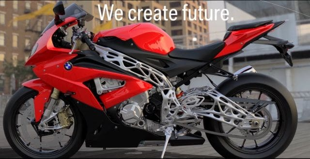 Dibuat Dengan Teknologi 3D Printing, BMW Pamerkan Sasis Baru S1000RR