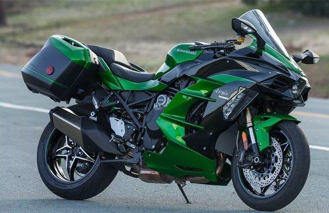 Kawasaki recalls Ninja H2 SX SS in the USA