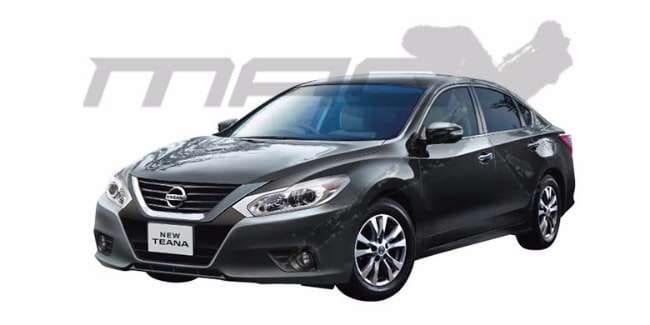 Nissan Perlihatkan Wajah Baru Sedan Teana