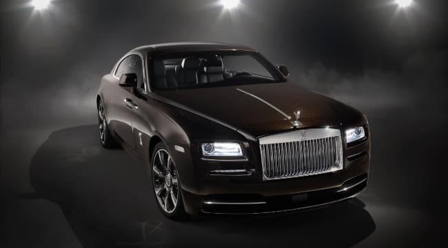 Ini Dia, Sedan Mewah Rolls Royce Wraith dengan Alunan Musik Elegan