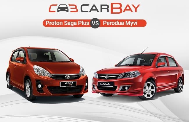 Proton Saga Plus Vs Perodua Myvi – The Battle of People's car