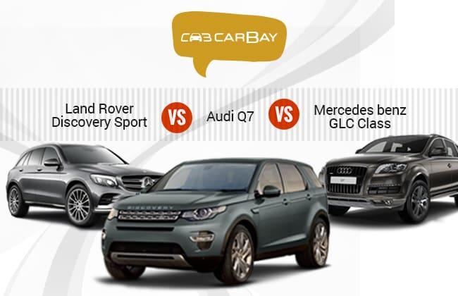 Land Rover Discovery Sport 2015 Vs Audi Q7 2015 Vs Mercedes-Benz GLC-Class 2015 – Perbandingan