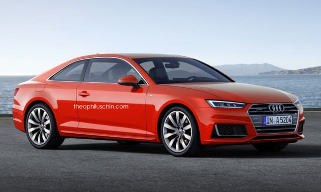 2017 Audi A5 Coupe to feature a sleeker design