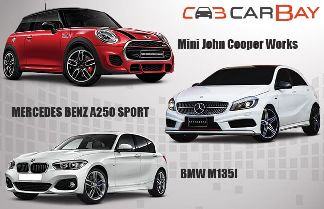 Mini John Cooper Work Vs Mercedes-Benz A-Class Vs BMW Seri-1 – Menantang MJC di GIIAS 2015