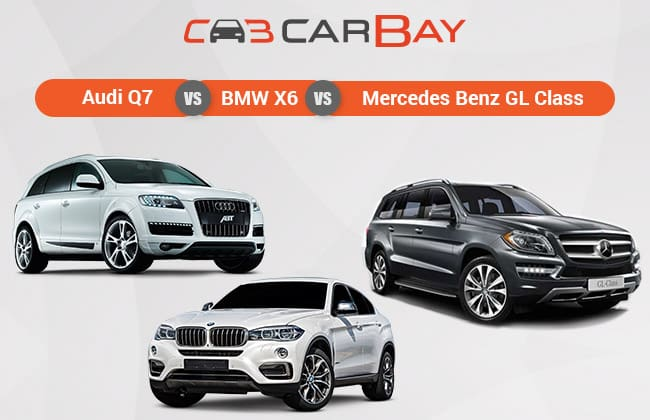 Audi Q7 Vs BMW X6 Vs Mercedes-Benz GL-Class – SUV Elite dibawah Radar